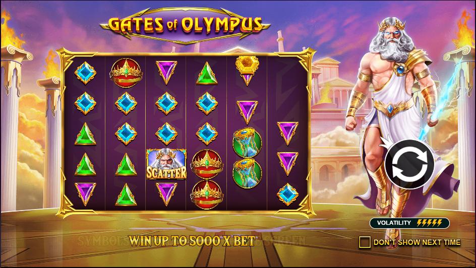 Gates of Olympus สล็อตออนไลน์