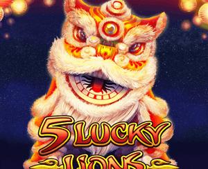5 Lucky Lions สล็อตออนไลน์ ฟรีเครดิต